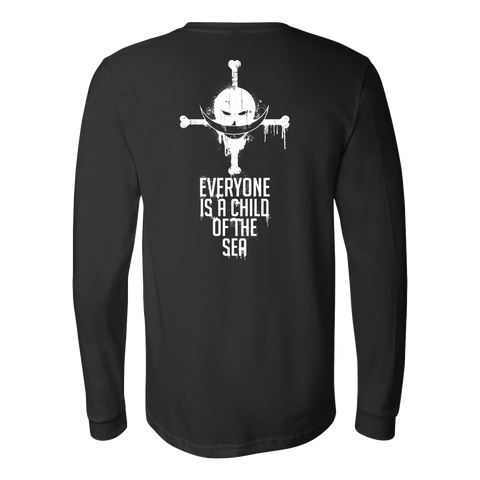One Piece - Everyone is a child of the sea - Unisex Long Sleeve T Shirt - TL01002LS