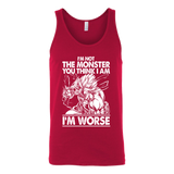 Super Saiyan Broly Monster Unisex Tank Top T Shirt - TL00019TT