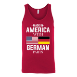 Limited edition german Unisex Tank Top T Shirt - TL00666TT