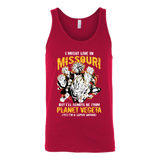 Super Saiyan I May Live in Missouri Unisex Tank Top T Shirt -TL00074TT