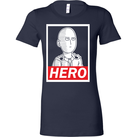 One Punch Man - Saitama Hero -Women Short Sleeve T Shirt – TL01150WS