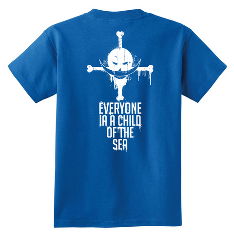 One Piece - Everyone is a child of the sea - Youth Kid T Shirt - TL01002YS