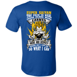 Super Saiyan Vegeta Warrior Men Short Sleeve T Shirt - TL00120SS