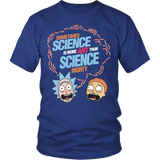 Rick And Morty - Sometimes science is more art than science morty - Men Short Sleeve T Shirt - TL01382