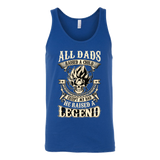 Super Saiyan Goku Dad Unisex Tank Top T Shirt - TL00034TT