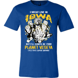 Super Saiyan Iowa Men Short Sleeve T Shirt - TL00090SS