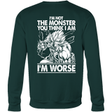 Super Saiyan Broly Monster Sweatshirt T shirt - TL00019SW