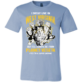 Super Saiyan I May Live in West Virginia Men Short Sleeve T Shirt - TL00097SS