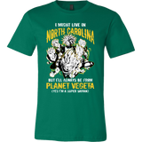 Super Saiyan North Carolina Men Short Sleeve T Shirt - TL00075SS