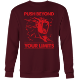 Super saiyan Majin Vegeta push your limits Sweat shirt - TL00226SW