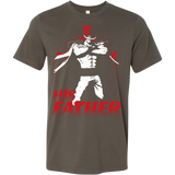 One Piece White Beard Father and Son Men Short Sleeve T Shirt - TL00515SS