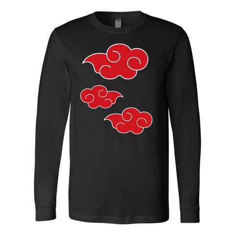Naruto - Uchiha Cloud - Unisex Long Sleeve T Shirt - TL01138LS
