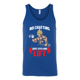 Super Saiyan Vegeta Gym Lift Up Unisex Tank Top T Shirt - TL00463TT