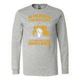 Hobbies - on the 8th day god created the redheads 2 - unisex long sleeve t shirt - TL00832LS