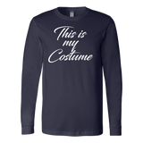 Halloween - This is my costume - Men Long Sleeve T Shirt - TL00796LS