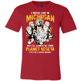Super Saiyan Michigan Group Men Short Sleeve T Shirt - TL00067SS