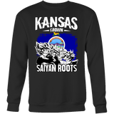 Super Saiyan Kansas Grown Saiyan Roots Sweatshirt T shirt - TL00150SW