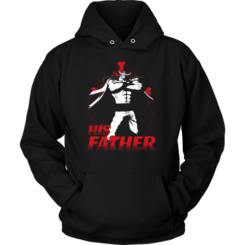 One Piece White Beard Father and Son Unisex Hoodie T shirt - TL00515HO