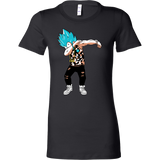 Super Saiyan Vegeta God Dab Woman Short Sleeve T Shirt - TL00464WS