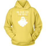 Halloween - im here for the booz - Unisex Hoodie T shirt - TL00723HO