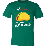 Taco mexican i love tacos Men Short Sleeve Funny T Shirt - TL00591SS