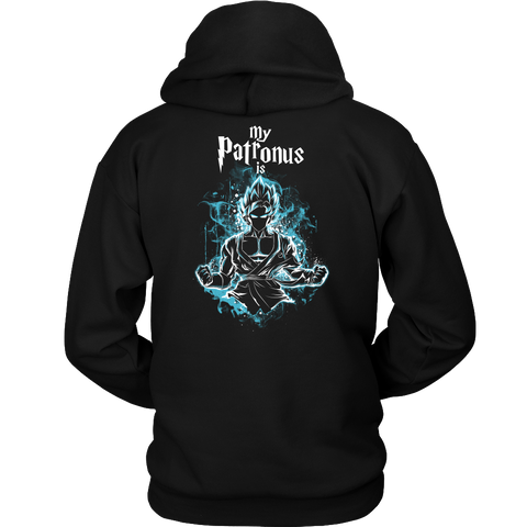 Super Saiyan - My Patronus is Goku God Blue - Unisex Hoodie T Shirt  - TL00898HO