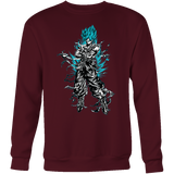 Super Saiyan Goku God Blue Sweatshirt T shirt - TL00207SW