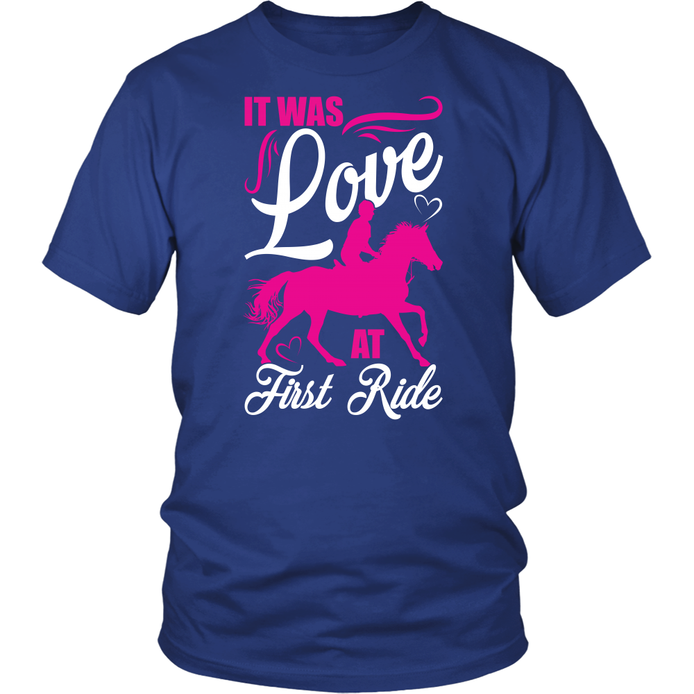 Family - It was love at first ride - Men Short Sleeve T Shirt - TL00931SS