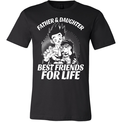 Super Saiyan Gohan and Pan Father and Daughter best friends Men Short Sleeve T Shirt - TL00478SS