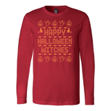 Halloween - Happy halloween witches - Men Long Sleeve T Shirt - TL00712LS