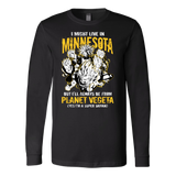 Super Saiyan Minnesota Long Sleeve T shirt - TL00085LS