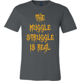 Halloween - The muggle struggle is real - Men Short Sleeve T Shirt - TL00727SS