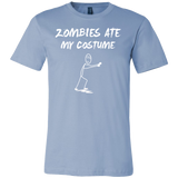 Halloween - Zombie Ate My Costume - Men Short Sleeve T Shirt - TL00806SS