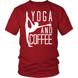 Yoga - Yoga And Coffee - Men Short Sleeve T Shirt - TL00891SS