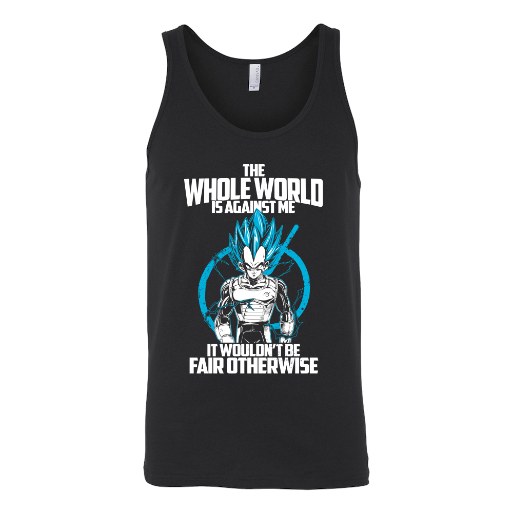 Super Saiyan Vegeta God Fair Otherwise Unisex Tank Top T Shirt - TL00541TT