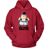 Super Saiyan - Gotenks Six Pack coming soon - Unisex Hoodie T Shirt - TL00877HO