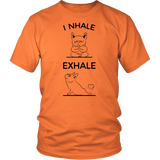 Yoga - I Nhale exhale - Men Short Sleeve T Shirt - TL00892SS