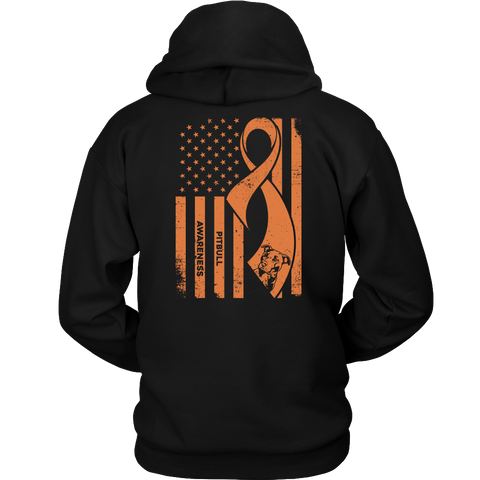 Pitbull Collection- PITBULL AWARENESS - Unisex Hoodie T Shirt - TL01061HO