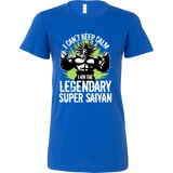 Broly Legendary Super Saiyan Woman Short Sleeve T shirt - TL00004WS - The TShirt Collection