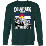 Super Saiyan Colorad Grown Saiyan Roots Sweatshirt T shirt - TL00151SW