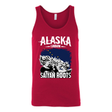 Super Saiyan ALASKA Growns Saiyan Roots Unisex Tank Top T Shirt - TL00169TT
