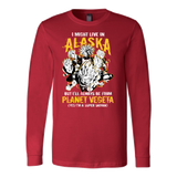 Super Saiyan Alaska Long Sleeve T shirt - TL00100LS