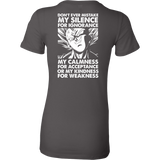 Super Saiyan Majin Vegeta Power Woman Short Sleeve T Shirt - TL00203WS
