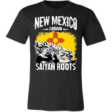 Super Saiyan New Mexico Grown Saiyan Roots Men Short Sleeve T Shirt - TL00157SS