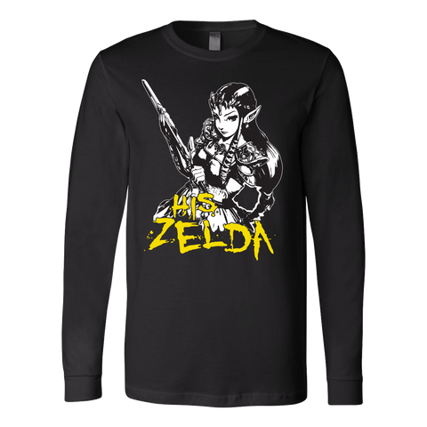 Couple Collection - His Zelda - Unisex Long Sleeve T Shirt - TL01317LS