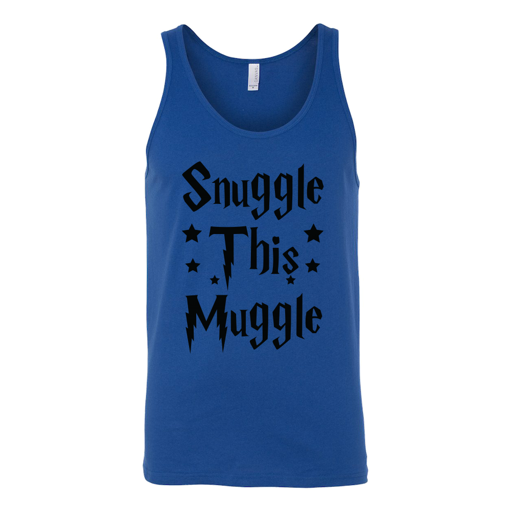 Harry Potter - Snuggle this muggle - unisex tank top t shirt - TL00965TT