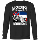 Super Saiyan Sweatshirt T shirt - FOR MISSISSIPPI FANS - TL00164SW
