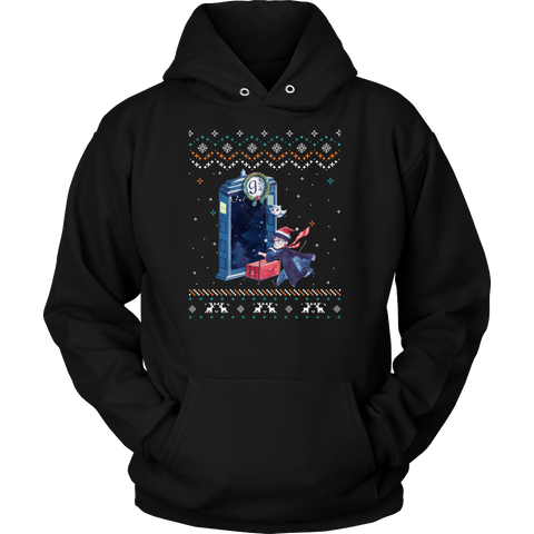 Harry Potter - HP Christmas - Unisex Hoodie T Shirt - TL01118HO