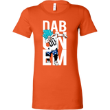 Super Saiyan Goku God Dab Woman Short Sleeve T Shirt - TL00497WS