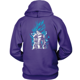 Super Saiyan God Blue Vegeta Unisex Hoodie T shirt - TL00021HO